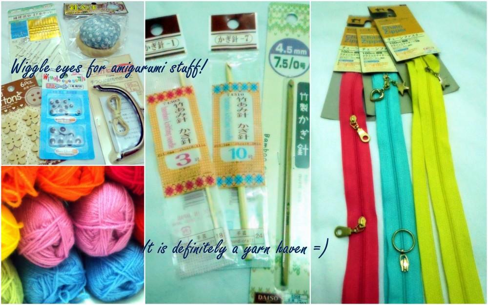 Yarns And  Craft Supplies At Daiso