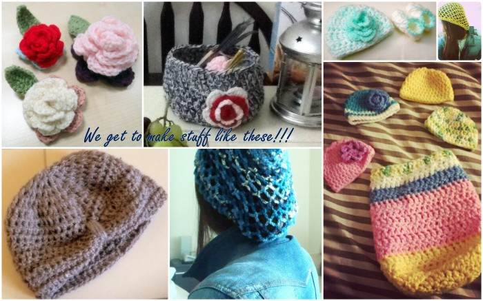 Crochet Beanies, Cocoon, Booties, Etc.